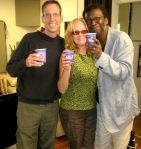 Bernie Heveron, Ms. Carol Heveron, and Cornelius Eady